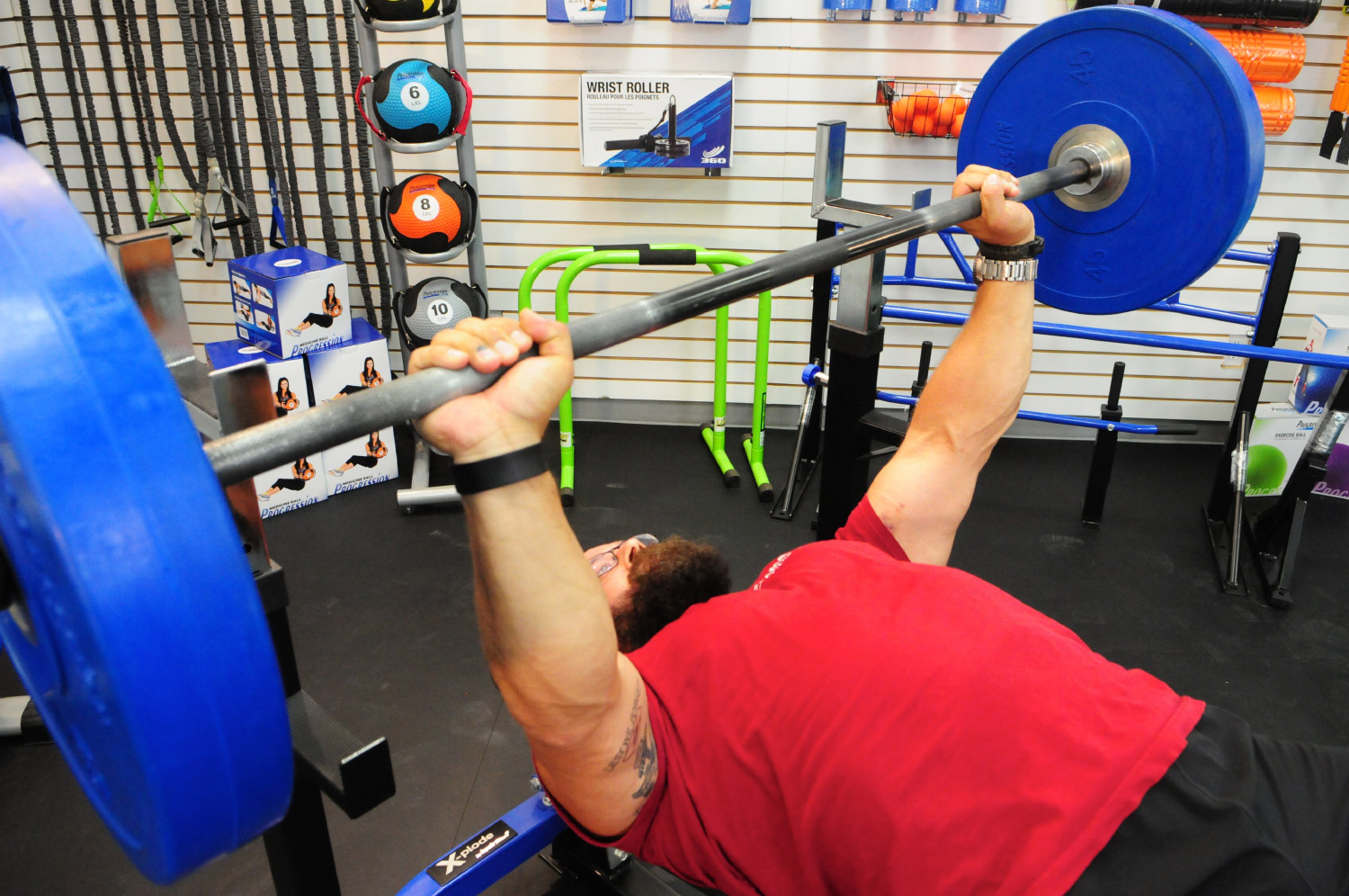 bench press barbell
