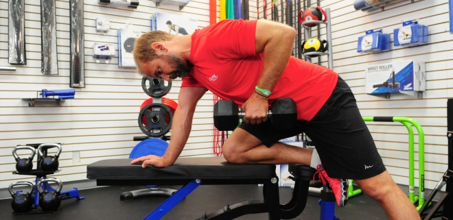 How to do Bent Over Rows with Dumbbells