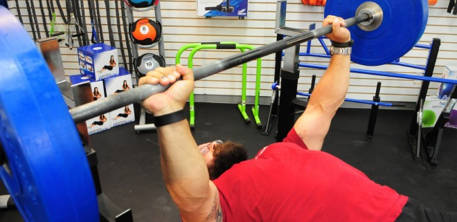 How to do Bench Press with a Barbell